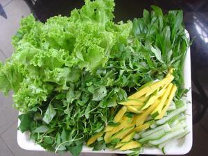 cần chọn nguồn rau sạch