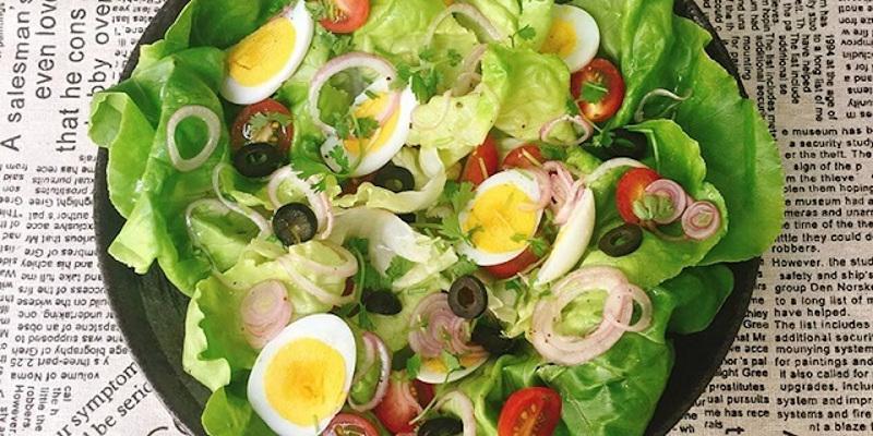ăn rau sống với lợi ích không tưởng