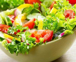 rau sống giảm cân