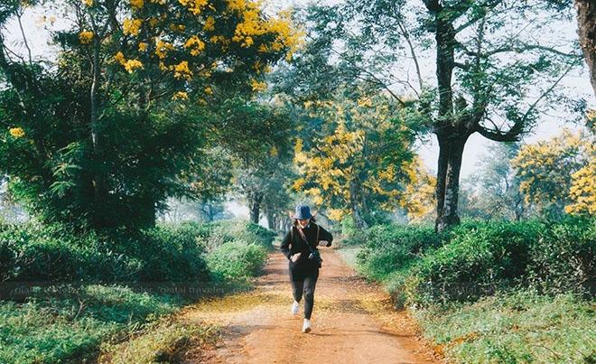 Chạy với con đường dài