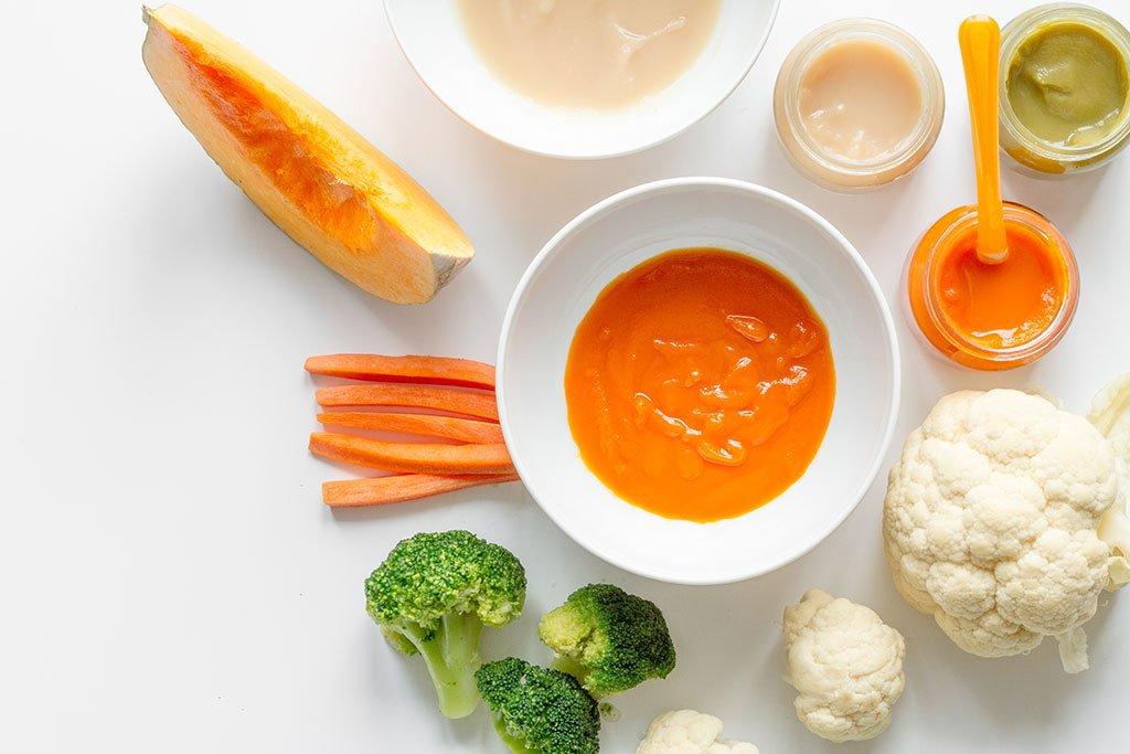 Làm thức ăn cho trẻ từ 6 - 24 tháng tuổi