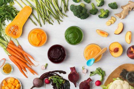 Trẻ mới bắt đầu ăn dặm nên lựa chọn thực phẩm nào?