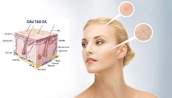 kiểm tra độ tuổi của da