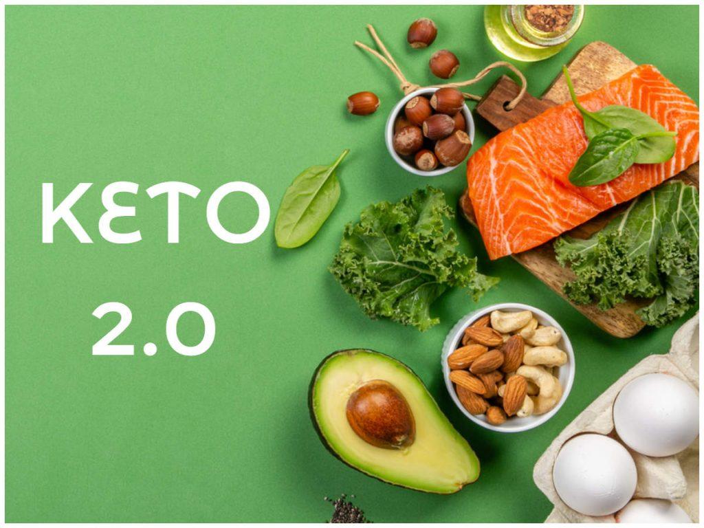 Update chế độ ăn kiêng Keto phiên bản 2.0 so với bản truyền thống
